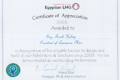 Our Certificate - Egyptian Lng